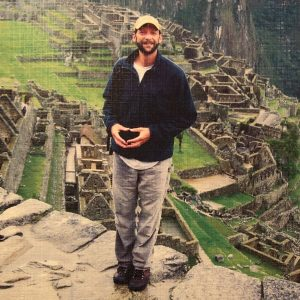 Photo of Bob Arndt at Machu Picchu